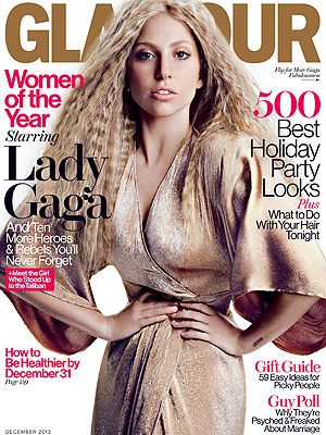 Lady Gaga: I'm 'Too Beautiful' on Magazine Cover| ARTPOP, Lady Gaga, Malala Yousafzai