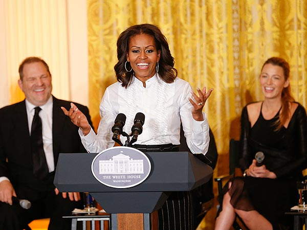 Blake Lively Addresses Aspiring Film Students at White House Workshop| Blake Lively, Michelle Obama