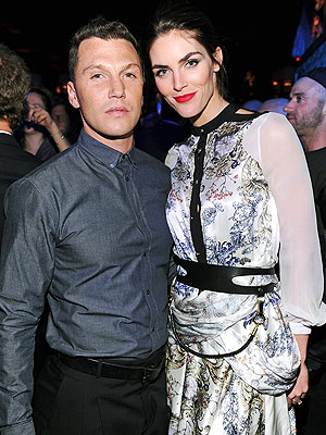 Sean Avery and Hilary Rhoda Party in New York