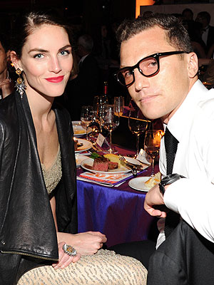 Sean Avery Engaged to Hilary Rhoda