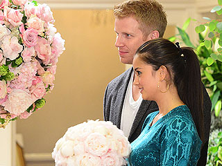 PHOTO: The Bachelor's Sean & Catherine Shop for Wedding Flowers