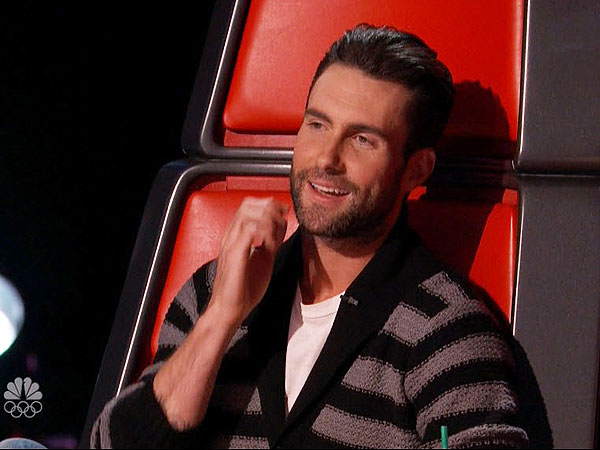 Adam Levine, PEOPLE's Sexiest Man Alive, Has a Good Night on 'The Voice'