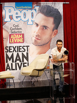Adam Levine Calls Sexiest Man Honors 'A Great Choice'| Jimmy Kimmel Live, Sexiest Man Alive, Adam Levine, Brad Pitt, George Clooney, Jimmy Kimmel, Johnny Depp, Nick Nolte, Ryan Gosling