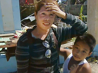 VIDEO: Mother and Son Reunited After Typhoon Haiyan