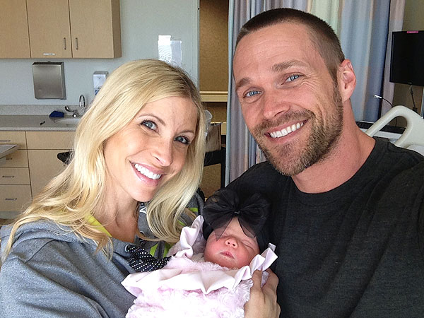 Chris and Heidi Powell Welcome Daughter Ruby Lane