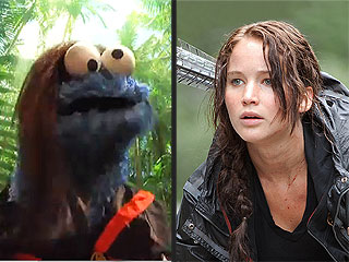 VIDEO: What do Jennifer Lawrence and Cookie Monster Have in Common?