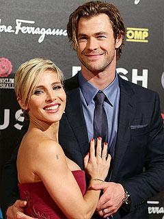 Chris Hemsworth Elsa Pataky Pregnant Expecting Second Child