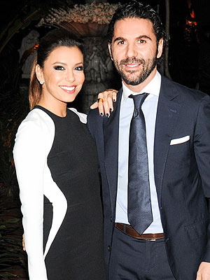 Eva Longoria Admires Her Beau's 'Humor and Intellect'