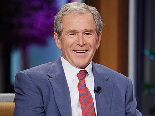 George W. Bush Gushes About Granddaughter on Tonight Show (VIDEO)