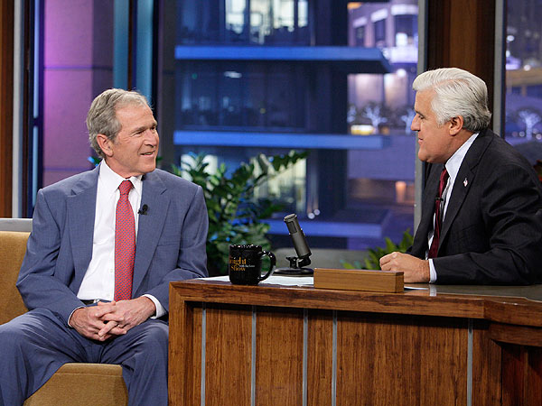 George W. Bush Gushes About Granddaughter on The Tonight Show