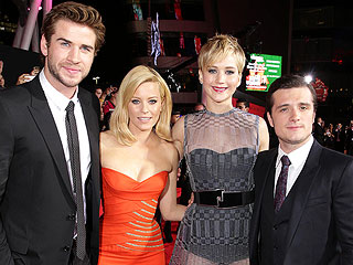 See the Star-Studded Catching Fire Red Carpet – in 90 Seconds!