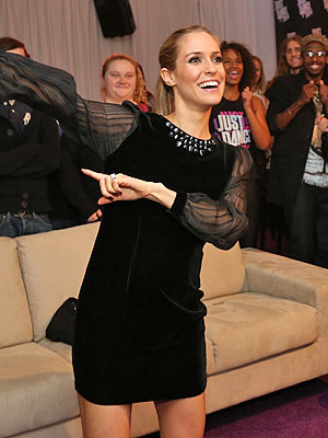 Kristin Cavallari Just Dance Thanksgiving Dinner
