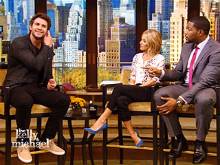 Liam Hemsworth: My Mom Taught My Sex Ed Class | Kelly Ripa, Liam Hemsworth, Michael Strahan