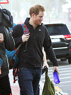 Prince Harry Begins His Antarctic Extreme Adventure