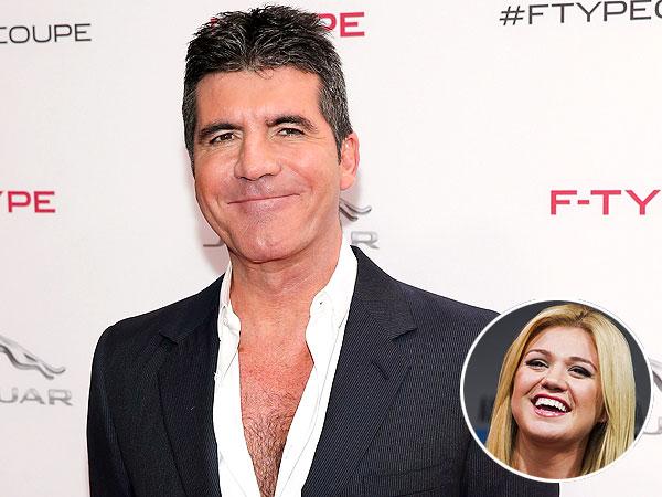 Simon Cowell Kelly Clarkson Pregnant