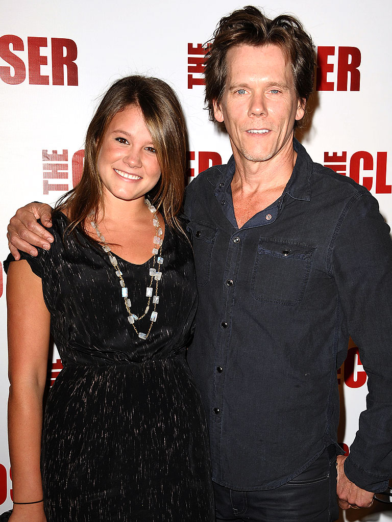 Sosie and Kevin Bacon