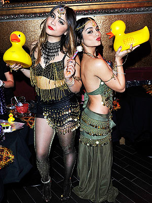 Vanessa Hudgens Celebrates Sister's Birthday – in Matching Bollywood Getups