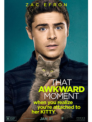 Zac Efron, Michael B. Jordan, Miles Teller in That Awkward Moment Movie Poster