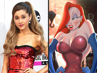Ariana Grande Channels Jessica Rabbit at AMAs
