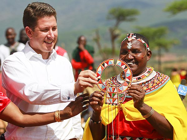 Prince George's Special Gift from Kenyan Tribal Elders: Get All the Details| The British Royals, The Royals, Kate Middleton, Prince George, Prince William