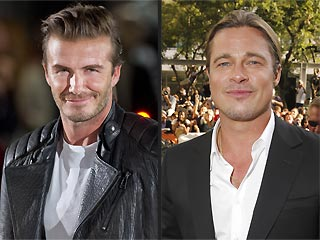 David Beckham: Brad Pitt Should Play Me in a Movie