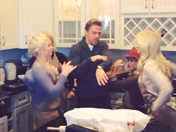 Watch DWTS Pros Battle in Epic Thanksgiving Dance Wars