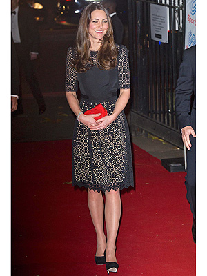 Kate's Glamorous Night Out: Jimmy Choos in the Name of Charity