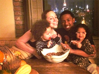 How Mariah Carey, Nick Cannon & Family Prepped for Thanksgiving