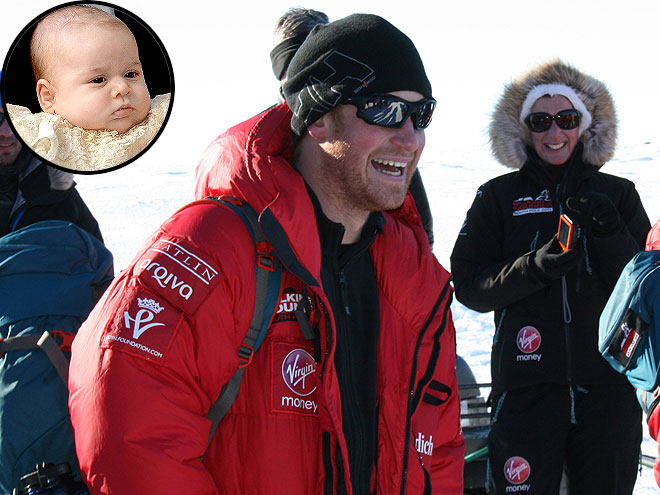 Prince Harry: South Pole Trek Is Escape from Prince William's 'Screaming Child'