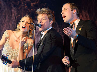 See Prince William, Bon Jovi & Taylor Swift Do 'Livin' on a Prayer' from Every Angle!