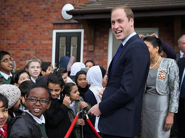 Prince William: A Library Card for George, But No Rapping for Me!