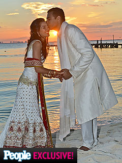 Actress Sheetal Sheth Weds Longtime Love in Mexico – See the Dress!