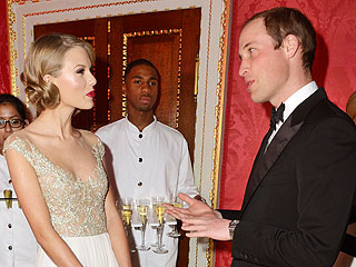 Taylor Swift Meets Prince William and Says He's 'So Cool'
