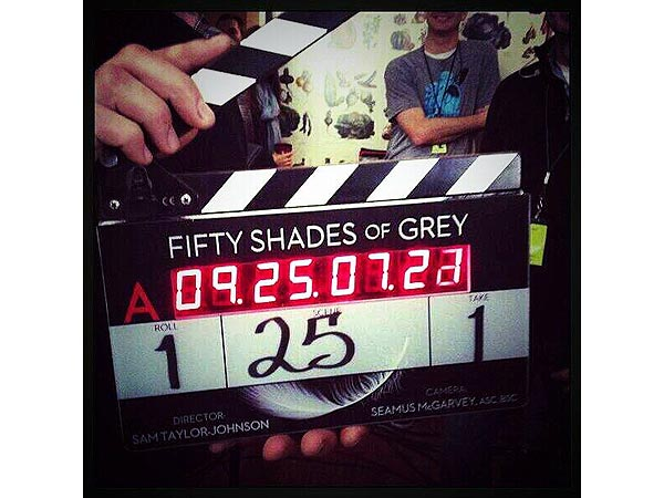 Fifty Shades of Grey Starts Filming| Fifty Shades of Grey, Fifty Shades of Grey, Dakota Johnson, Jamie Dornan