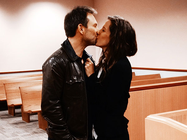 Christian Slater Marries Brittany Lopez| Marriage, Wedding, Christian Slater