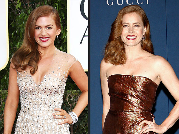 Amy Adams Doesn't Get Why People Mistake Her for Isla Fisher