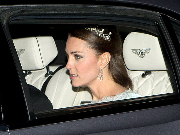 Kate Middleton Wears Lotus Flower Tiara After Queen Elizabeth, Princess Margaret