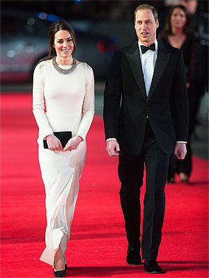 Prince William and Kate Attend Mandela Premiere in London
