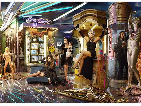 Kardashian Family Reveals Annual Christmas Card  Kim Kardashian Cover, North West, Bruce Jenner, Kendall Jenner, Khloe Kardashian, Kim Kardashian, Kourtney Kardashian, Kris Jenner, Kylie Jenner, Rob Kardashian