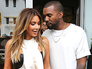 Kim and Kanye Have Romantic Lunch Date in Atlanta