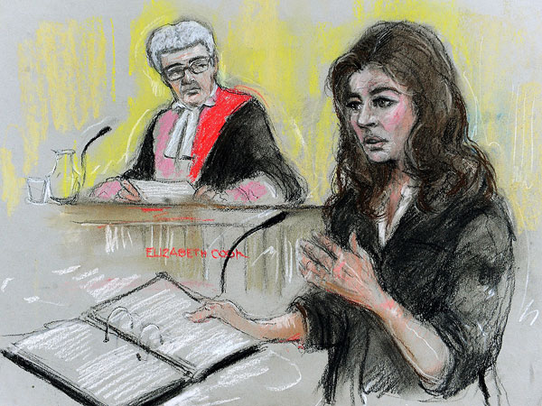 Nigella Lawson Testifies About Cocaine Use| Trials & Lawsuits, Celebrity Scandals, Nigella Lawson