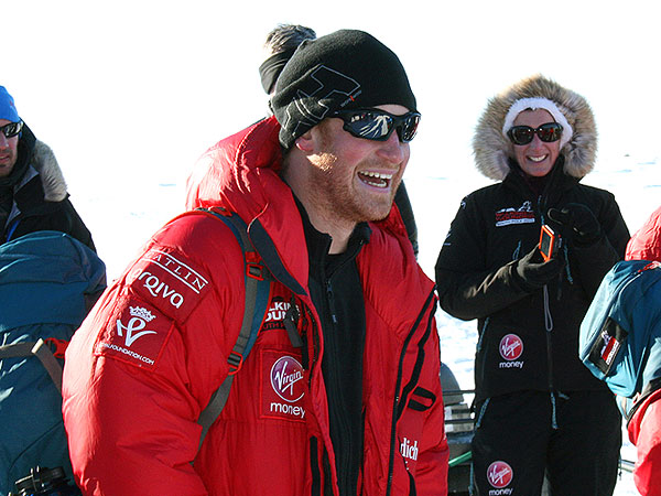 Listen In on Prince Harry's Phone Call from the South Pole