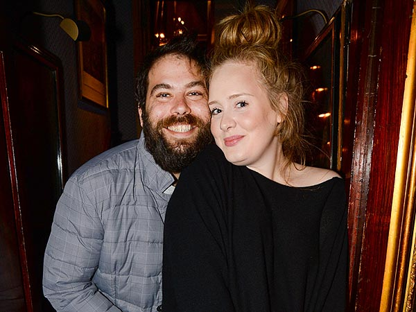 Adele and Simon Konecki Enjoy Date Night at a Private Lady Gaga Concert