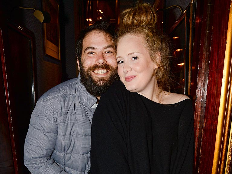 Adele and Simon Konecki Enjoy Date Night at a Private Lady ...