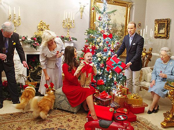 PHOTOS: Prince George as a Reindeer! Imagining the New Royal's First Christmas