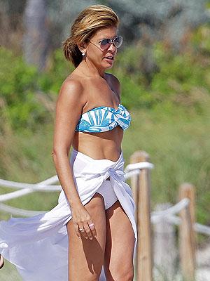 Hoda Kotb Shows Off Bikini Body in Miami