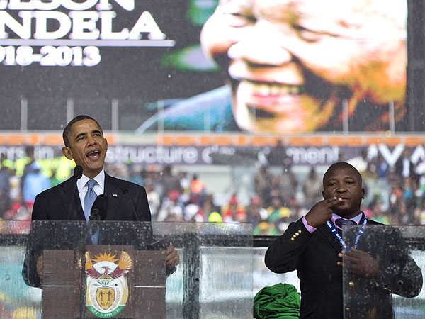 Mandela Memorial Deaf Interpreter Was a Fake