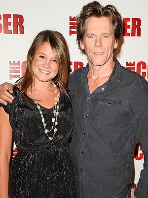 Proud Papa Kevin Bacon: Sosie 'Blew Our Minds' at Golden Globes