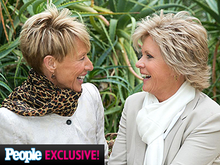 Newlyweds Meredith Baxter and Nancy Locke Met on the Phone