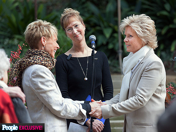 How Meredith Baxter Met Nancy Locke, Wedding